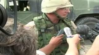 أرشيف غزو العراق- انفجار سيارة مفخخة أمام فندق بغداد