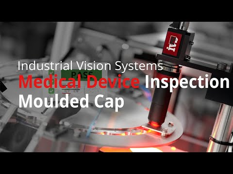 Automated medical device mould inspection machine using machine vision