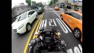 성북소방서 오토바이119구급대 청량리 H아파트 구급출동 영상
