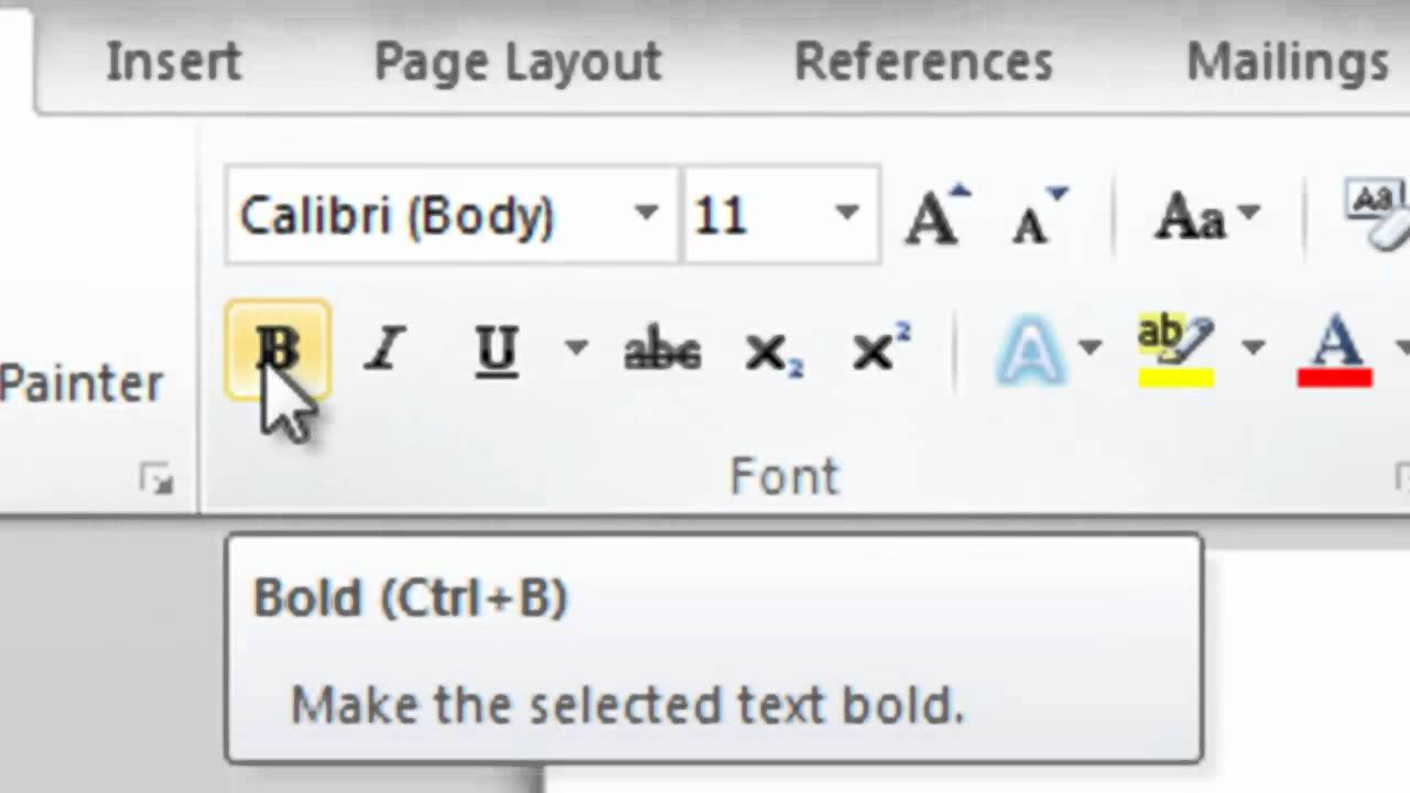 how to make 3d text in word 2010