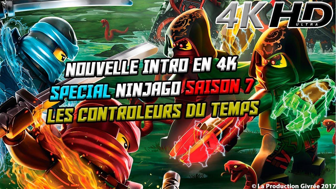 Mon intro et outro en 4k sp cial ninjago saison 7 les - Ninjago nouvelle saison ...