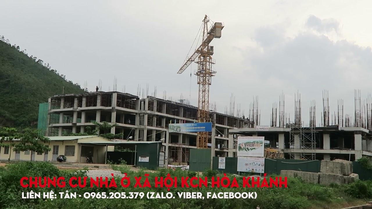 Chung cư nhà ở xã hội khu công nghiệp Hòa Khánh Đà Nẵng