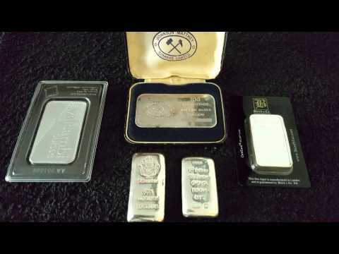 #GREXIT2015 (Greek Eurozone Exit) Chat Plus Silver Bullion 100 Gram Bars
