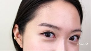 Updated Korean Eyebrows Tutorial♥눈썹 메이크업 Thumbnail