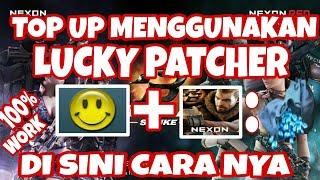 point blank strike - CHEAT cara top up gratis menggunakan Lucky patcher di point blank strike