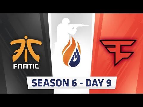 ECS Season 6 Day 9 Fnatic vs Faze - Inferno