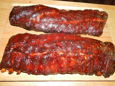 BBQ Ribs Membrane On VS. Membrane Off - Baby Back Ribs