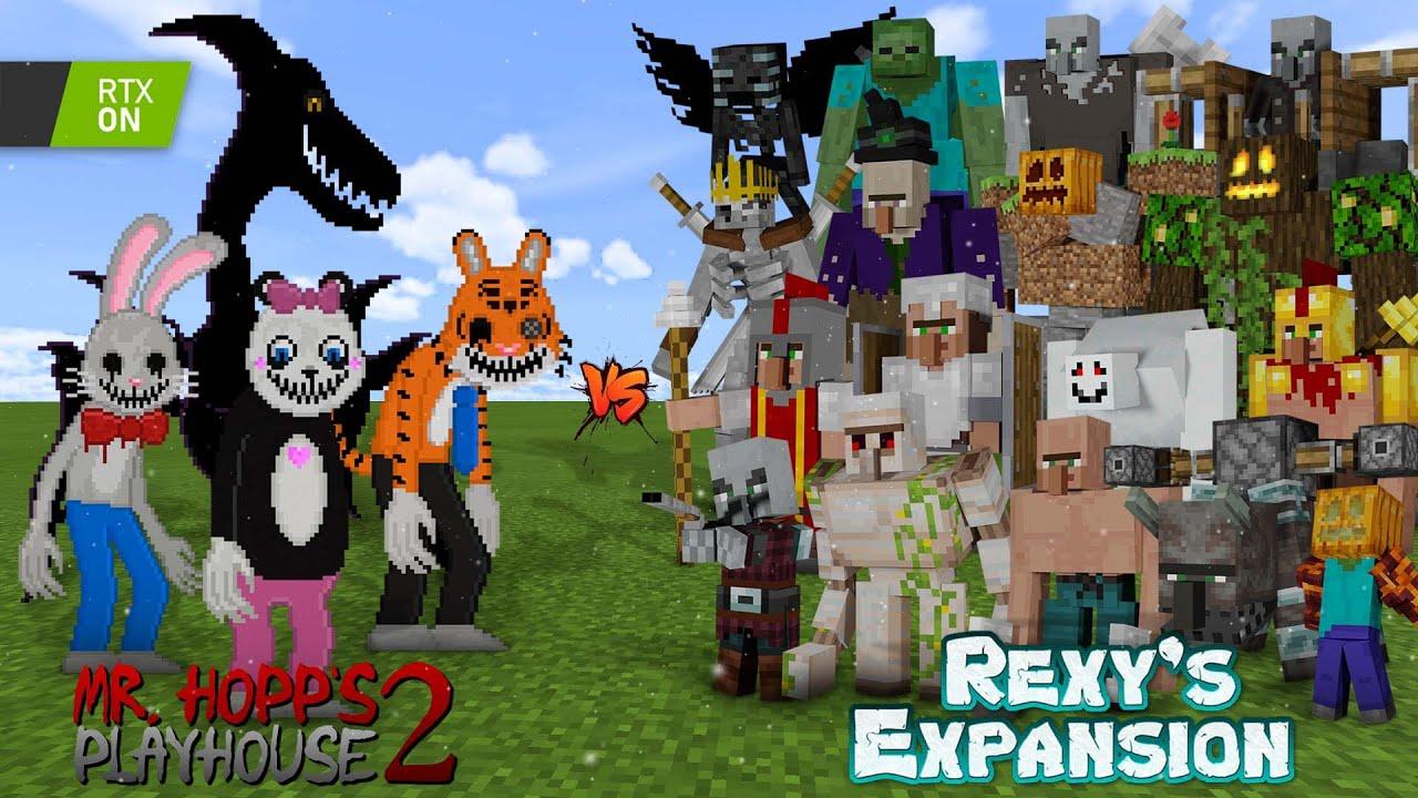 MR. HOPP'S  PLAYHOUSE 2 vs REXY'S EXPANSION || RTX ON!
