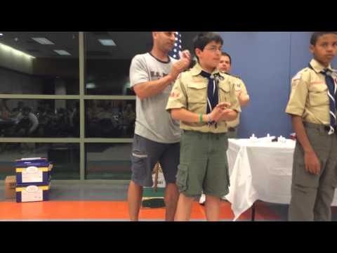 Boy Scout Troop 555 Court of Honor