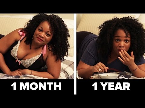 Sex In A Relationship: One Month Vs. One Year