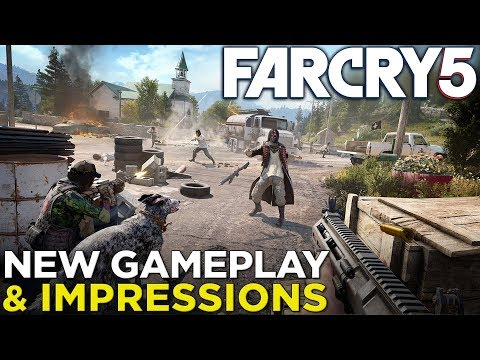Far Cry 5 — NEW GAMEPLAY & Hands-On Impressions!