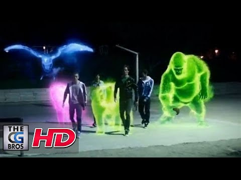"CGI VFX Spot :  ""Auras"" by - Creature of London"