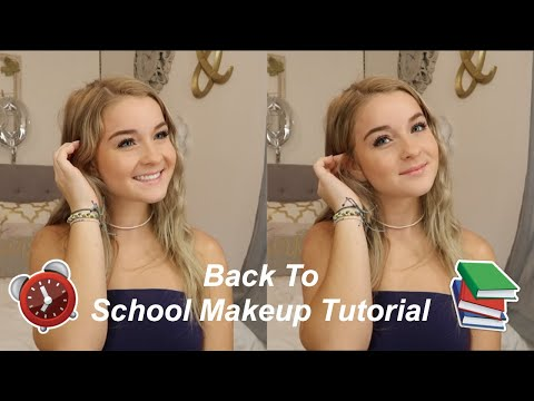 DRUGSTORE Back to School Makeup Tutorial   Quick & Easy thumbnail