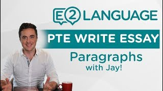 PTE Writing: Write Essay | Paragraphs 1 and 2 | ESSAY STRUCTURE!