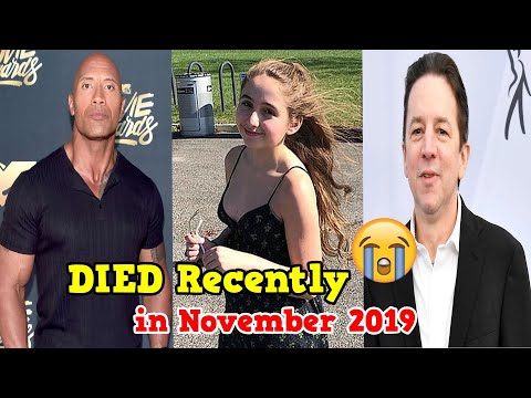 Hollywood Famous People Who DIED Recently In November 2019