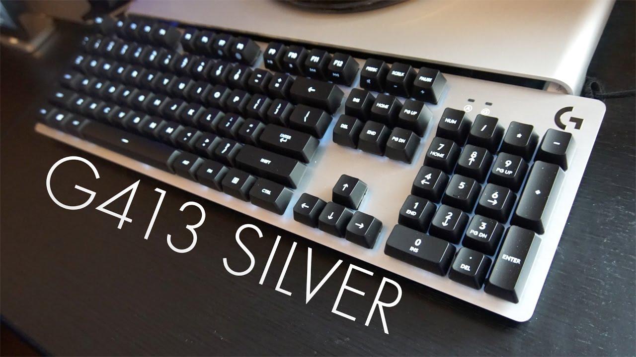 Logitech G413 Gaming Keyboard Unboxing Youtube