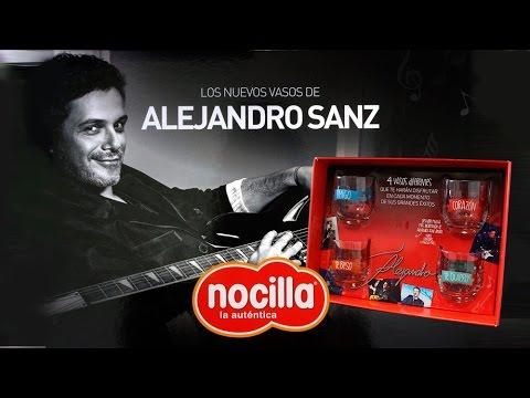 Letras de canciones de Alejandro Sanz inspiran la nueva colección de Nocilla