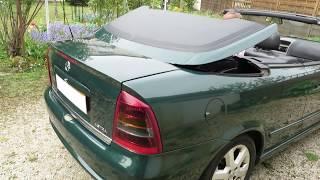 Opel Astra 2 Cabriolet Bertone Pack 2002 1.6 16V decapotage electrique zerostress auto