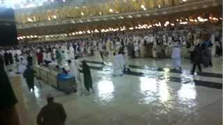 makkah azan in rain