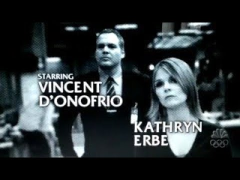 LAW & ORDER: CRIMINAL INTENT Opening Season 5 (GELB)