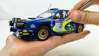 Awesome Build of a Tiny 2001 WRC Subaru Impreza - Tamiya 1/24 Full Build Step by Step