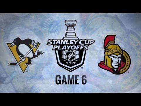 Pittsburgh Penguins Vs Ottawa Senators Game 6 | NHL Game Recap | May 23, 2017 | HD