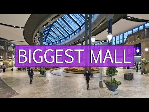 CARREFOUR LAVAL – TOUR OF THE LARGEST SHOPPING MALL IN LAVAL, QUEBEC, CANADA!