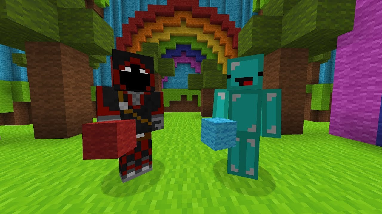 So BadBoyHalo Invited Me To His Minecraft Server...