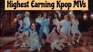 Highest Earning Kpop Music Videos