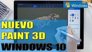 Usar Paint 3D de Windows 10 para crear en tres dimensiones