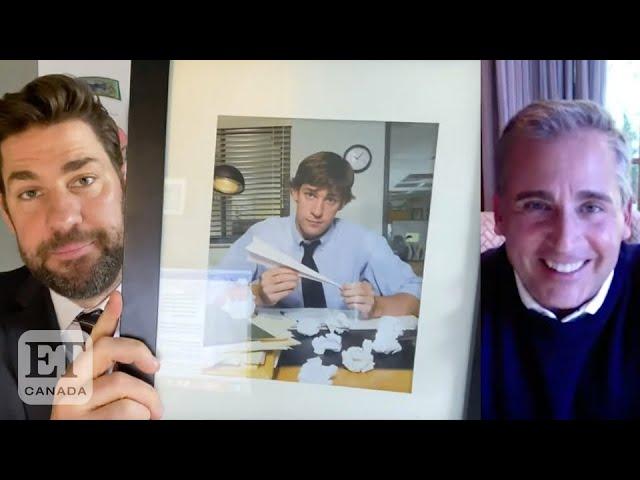 Steve Carell, John Krasinski Reflect On 'The Office'