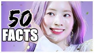 50 FACTS ABOUT TWICE DAHYUN
