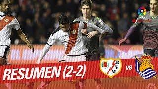 Resumen de Rayo Vallecano vs Real Sociedad (2-2)