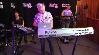 Howard Jones performs