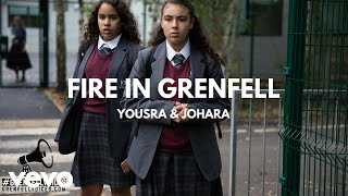 Yousra & Johara - Fire in Grenfell (Read all about it III /Grenfell Voices version)