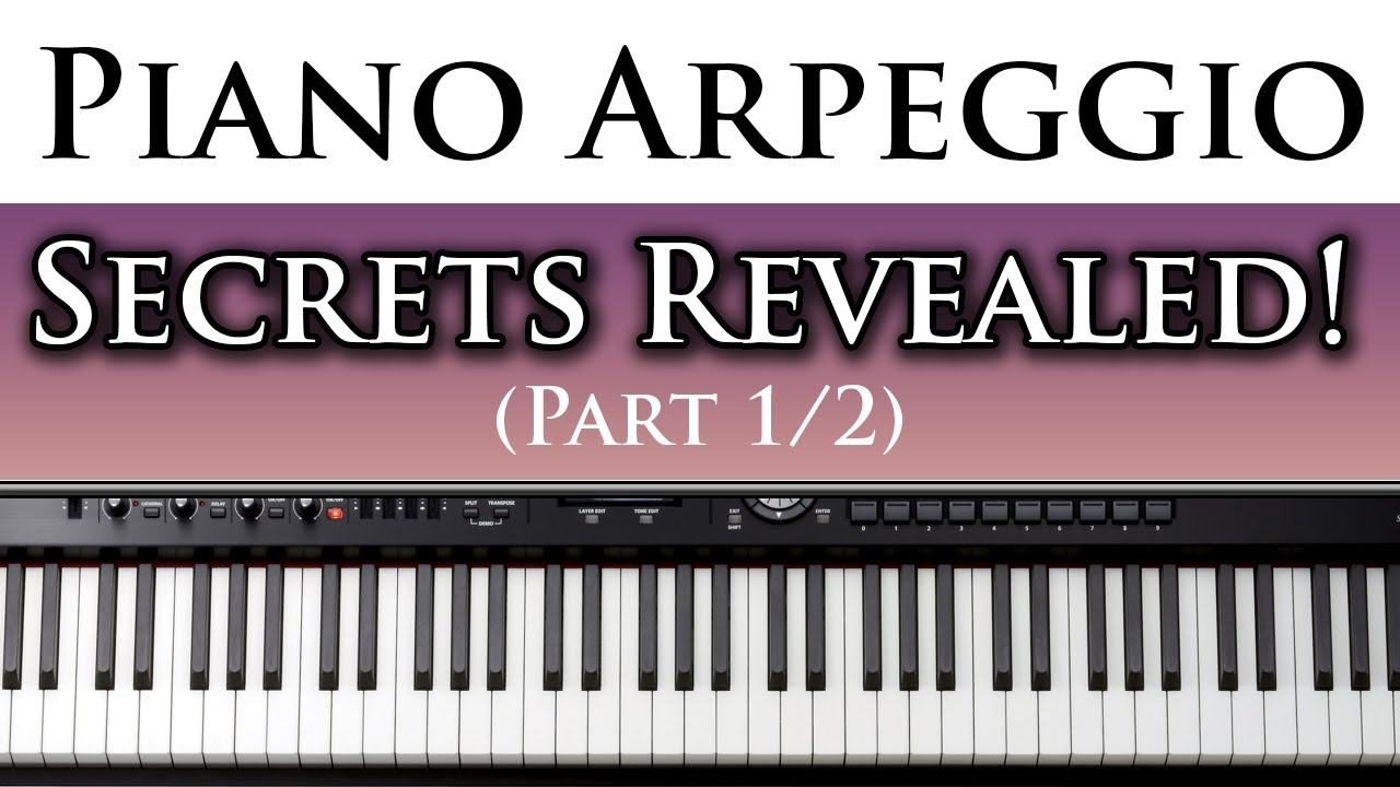 best free piano lessons learn to play left hand piano arpeggios 1 2 youtube. Black Bedroom Furniture Sets. Home Design Ideas