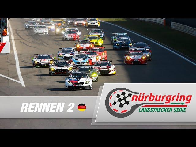 LIVE: Rennen 2 Nürburgring Langstrecken-Serie 2021 (NLS)