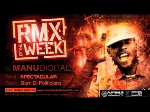 SPECTACULAR BURN DI POLITICIANS RMX OF THE WEEK By MANUDIGITAL