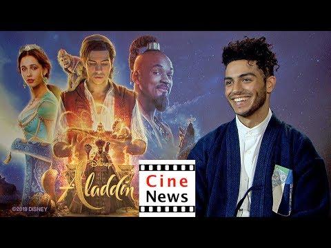 Aladdin – Interview: Mena Massoud