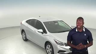 183103 - New, 2018, Chevrolet Cruze, LS, Sedan, Silver, Test Drive, Review, For Sale -