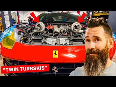 Aaron Kaufman Builds 1200 HP FERRARI TWIN TURBO F12 for DDE: Episode 1