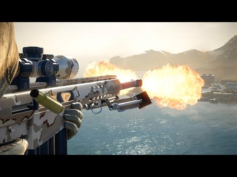 Sniper Ghost Warrior Contracts 2 - .50 Cal Kill Compilation |