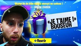 LES CADEAUX SONT DISPONIBLES DANS LA BOUTIQUE FORTNITE !!