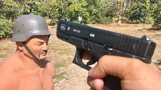 World War II German military Helmet vs Modern Helmet Germany 🇩🇪