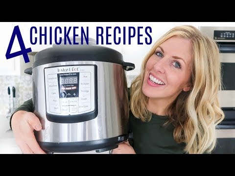 4 EASY Instant Pot Chicken Recipes – Perfect for Beginners