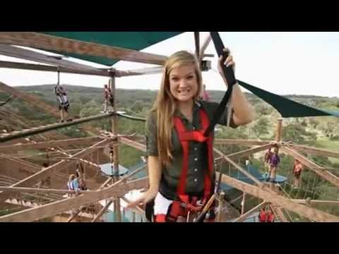 Natural Bridge Caverns Canopy Challenge Video Youtube
