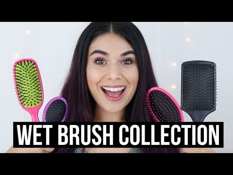 THE BEST DETANGLING BRUSH FOR THICK HAIR | WetBrush Review Collection