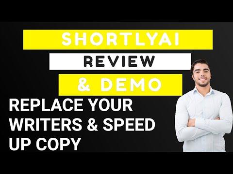 ShortlyAI Review and Demo thumbnail