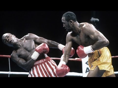 Thomas Hitman Hearns Chopping Cross & Flicker Jab Explained - Technique Breakdown