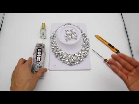 How to Fix Loose Rhinestones and Crystals that have Fallen Out